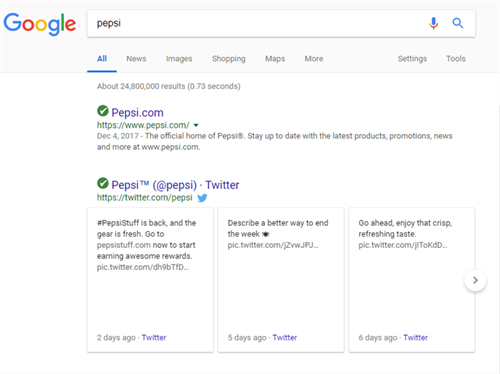 How to Earn a Tweet Carousel for Your Business in Google Search Results