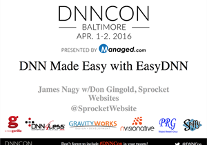 DNN Made Easy with EasyDNN