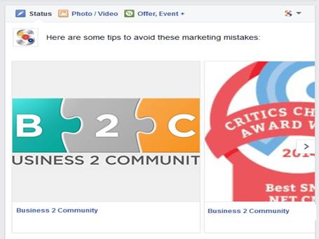 Facebook best practice